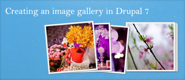 Creating an image gallery in Drupal 7